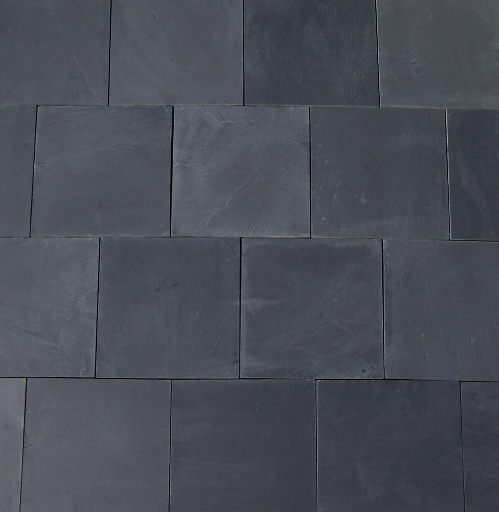 Chinese Black Slate Floor Tiles Bellstone