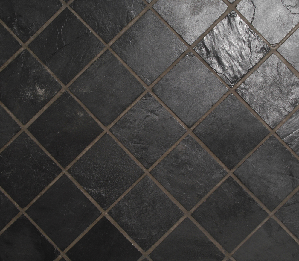Silver blue slate floor tiles wall cladding bellstone silver blue 200x200g dailygadgetfo Gallery