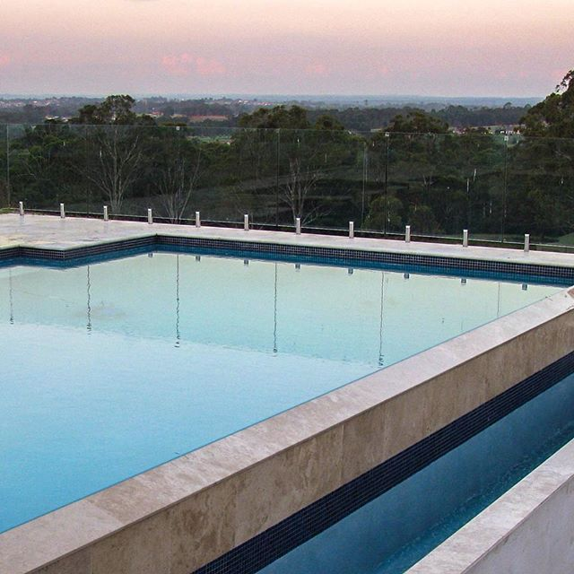 | T R A V E R T I N E |  Bellstone's Classico #travertine is a favourite for use around swimming pools not just because of its timeless beauty and colour variation but due to its excellent resistance to salt attack, its durability and density. With summer just around the corner, now's a great time to start planning your #naturalstone outdoor design project. Give us a call to discuss your project needs and claim your free consultation and quote - 02 9725 2201 or get online to find out more - Bellstone.com.au #poolinspo #design #architecture #designinspo #outdoorliving #pool #pooldesign #houzzau #bellstone #luxuryhomedesign #instadesign #landscapearchitecture #architecture #landscapedesign #homedesign #instahome #poolideas #poolsofsydney #swimmingpool #modernpool #pooldesign #poolideas