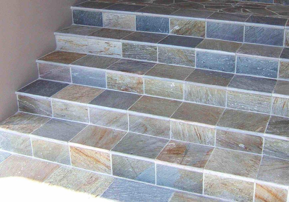 Sofala Quartzite Stairs