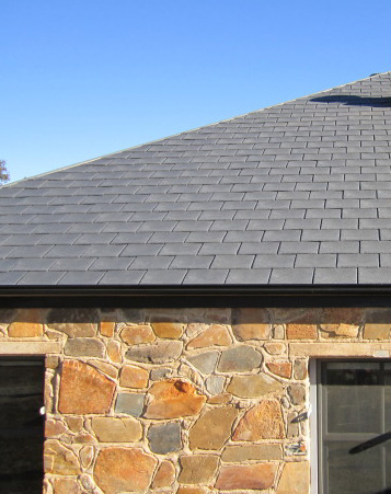 Tapco Inspire Slate Roofing - Orange