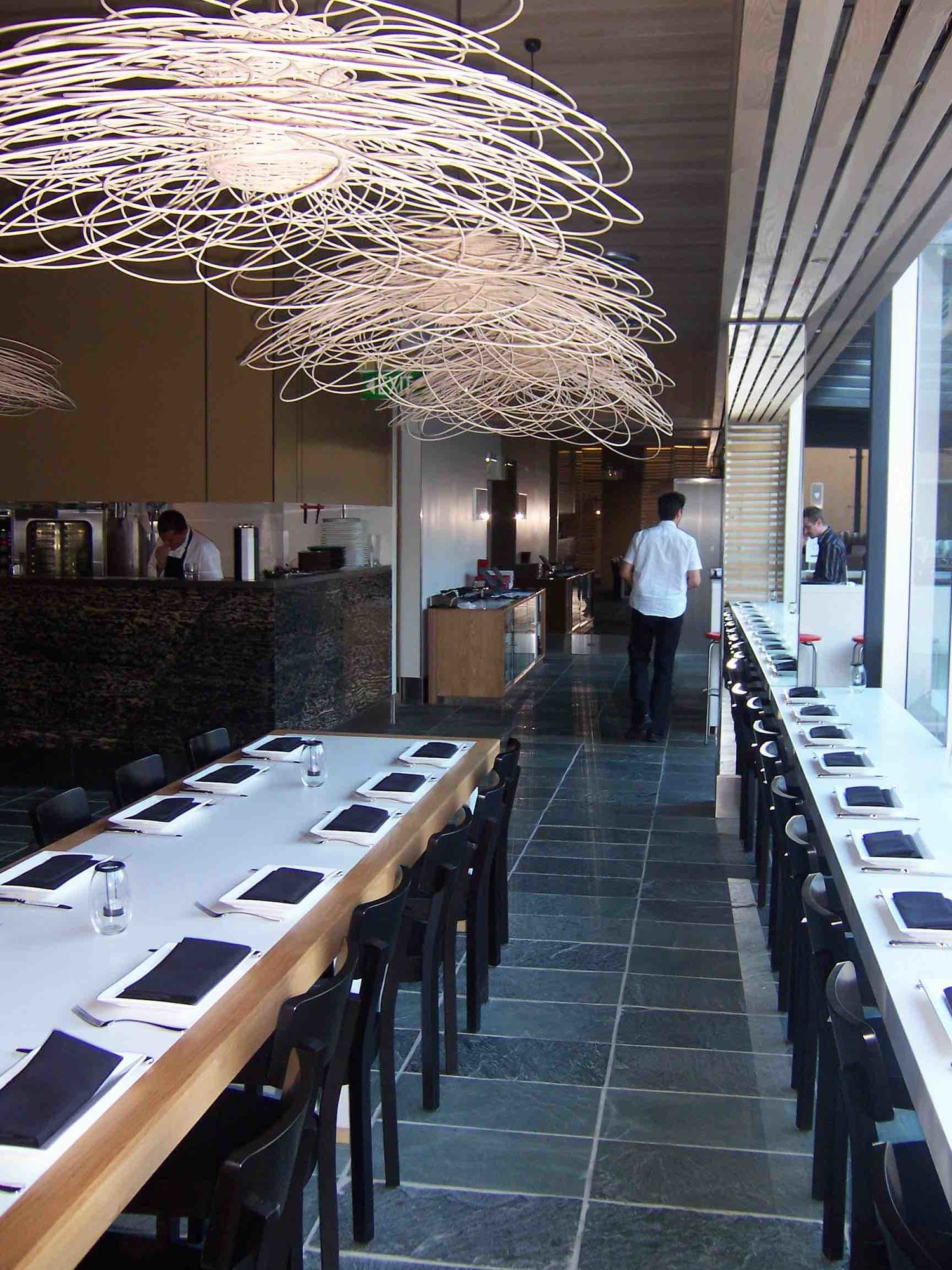 Commercial projects by the natural stone slate specialists arctic green floor slate restaurantg dailygadgetfo Image collections