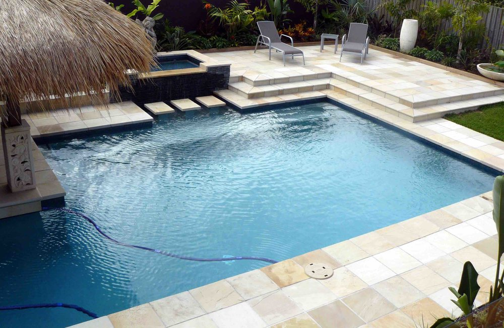 Willow Sandstone - Natural Split - Pool Paving