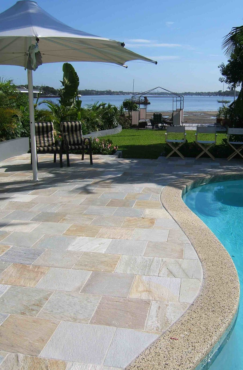 Sofala Quartzite Pool Paving
