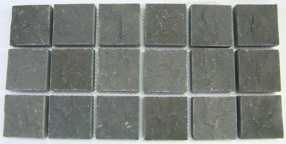Bluestone Cobbles - Sawn Surface