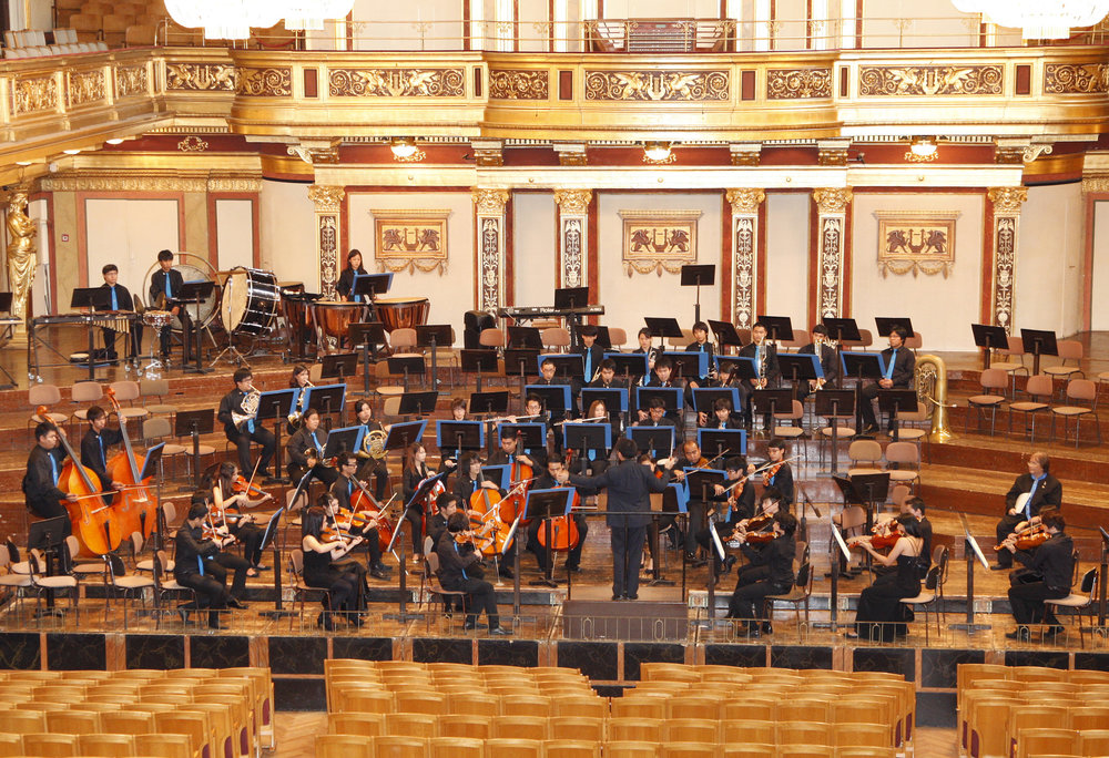 Siam Sinfonietta at the Golden Hall of the Musikverein, Vienna