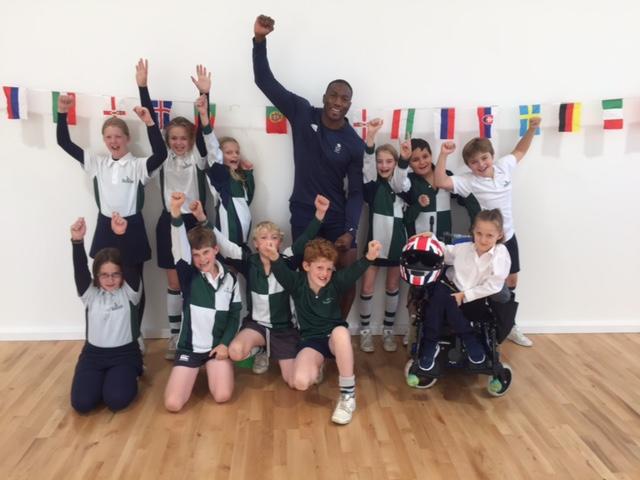 Bobsled Olympian wows Kitebrook pupils.JPG