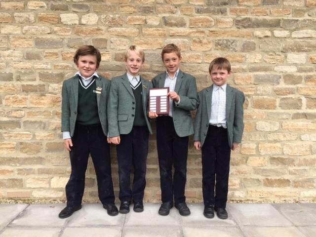 U9 winning boys team: Phillip ZW., Max H., Arthur C., Harry D.