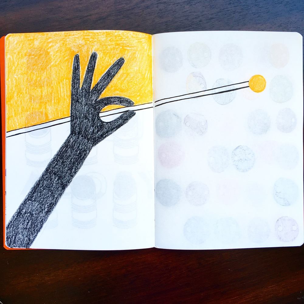 ICON sketchbook - Mahlstick