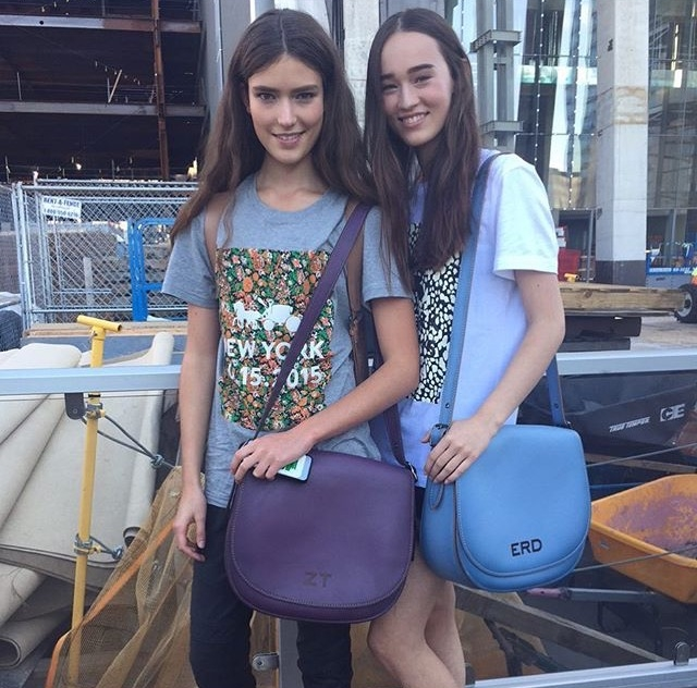 VII. Spending quality time with quality people (and quality monogrammed bags, to boot)!