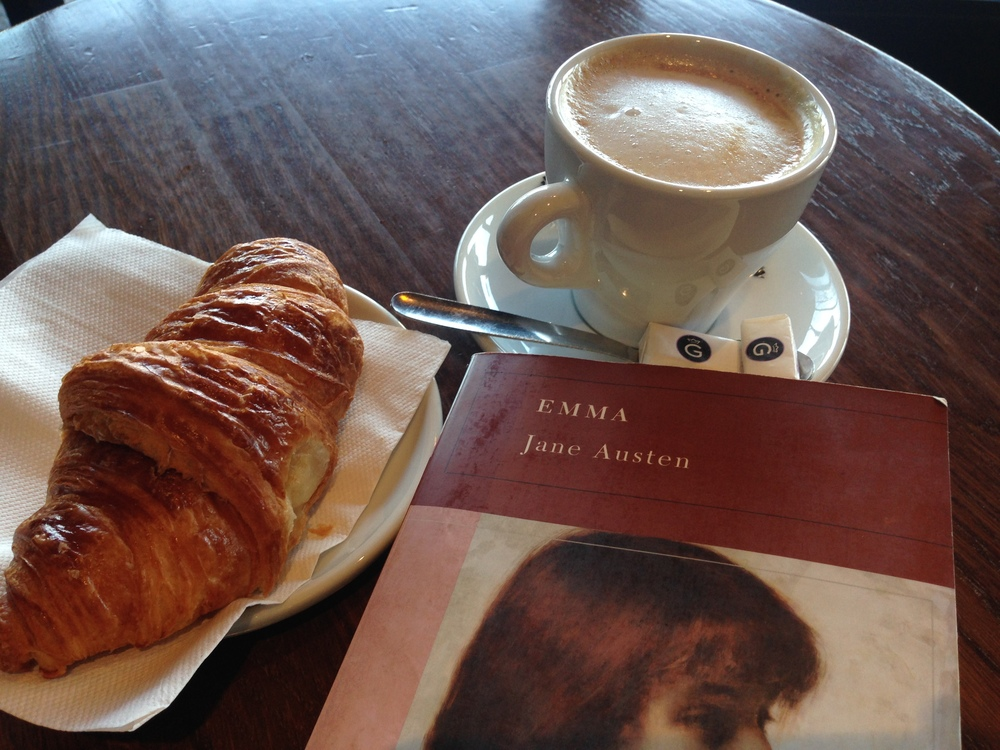 Good Coffee and Good Literature.