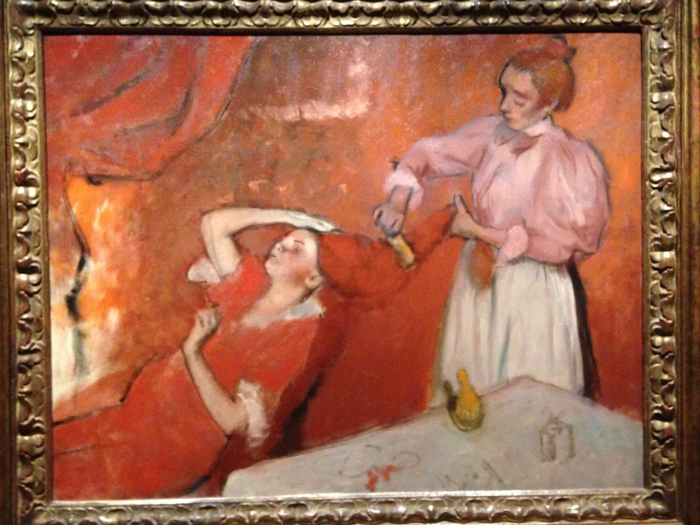 A Particularly Striking Degas at the National Portrait Gallery