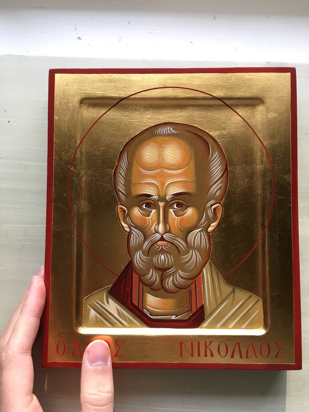 The Icon I bought at the Basilica