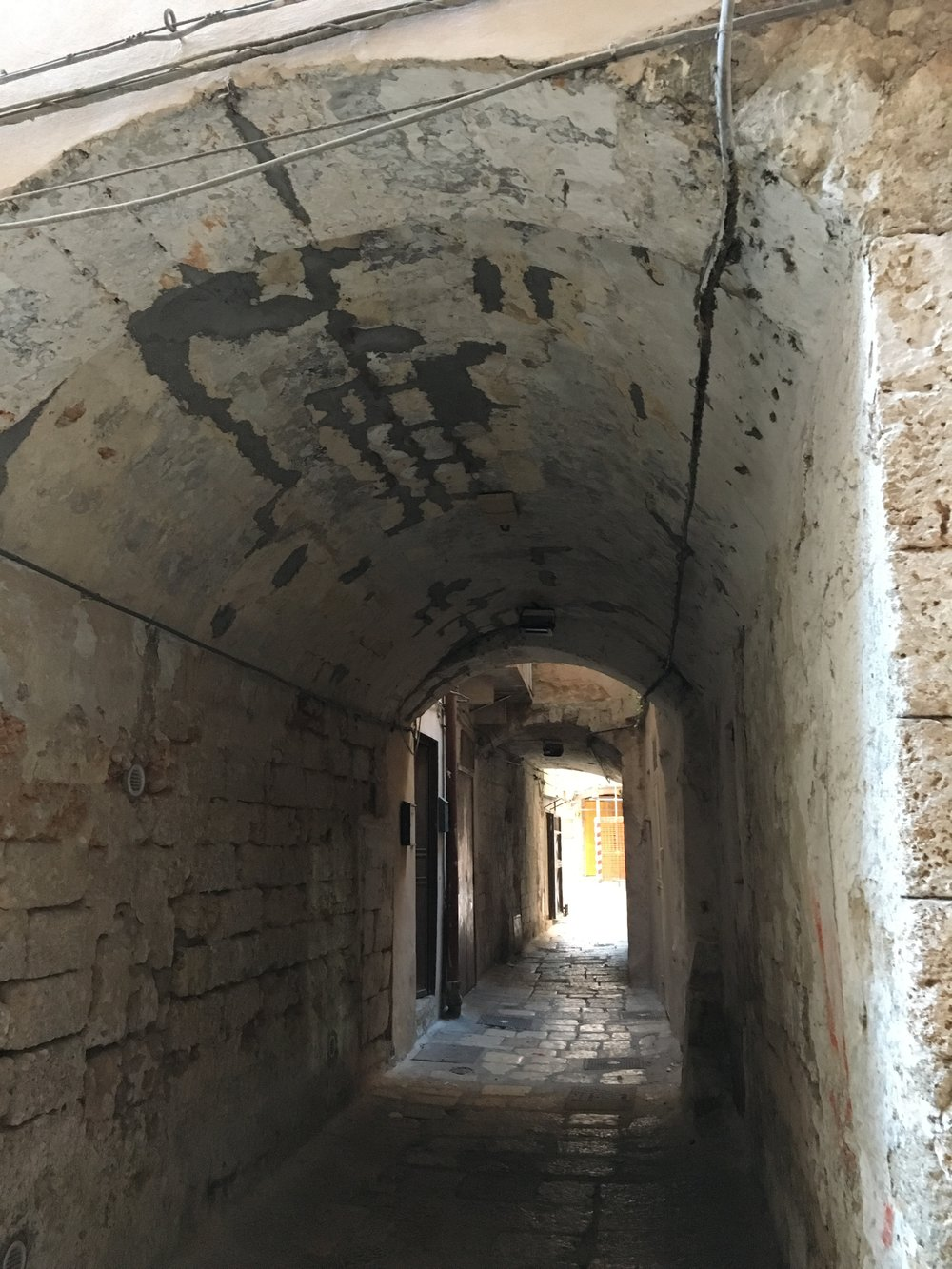 Exploring Random Medieval Passageways