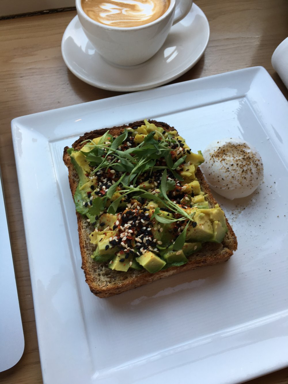 Avocado Toast, because it's California