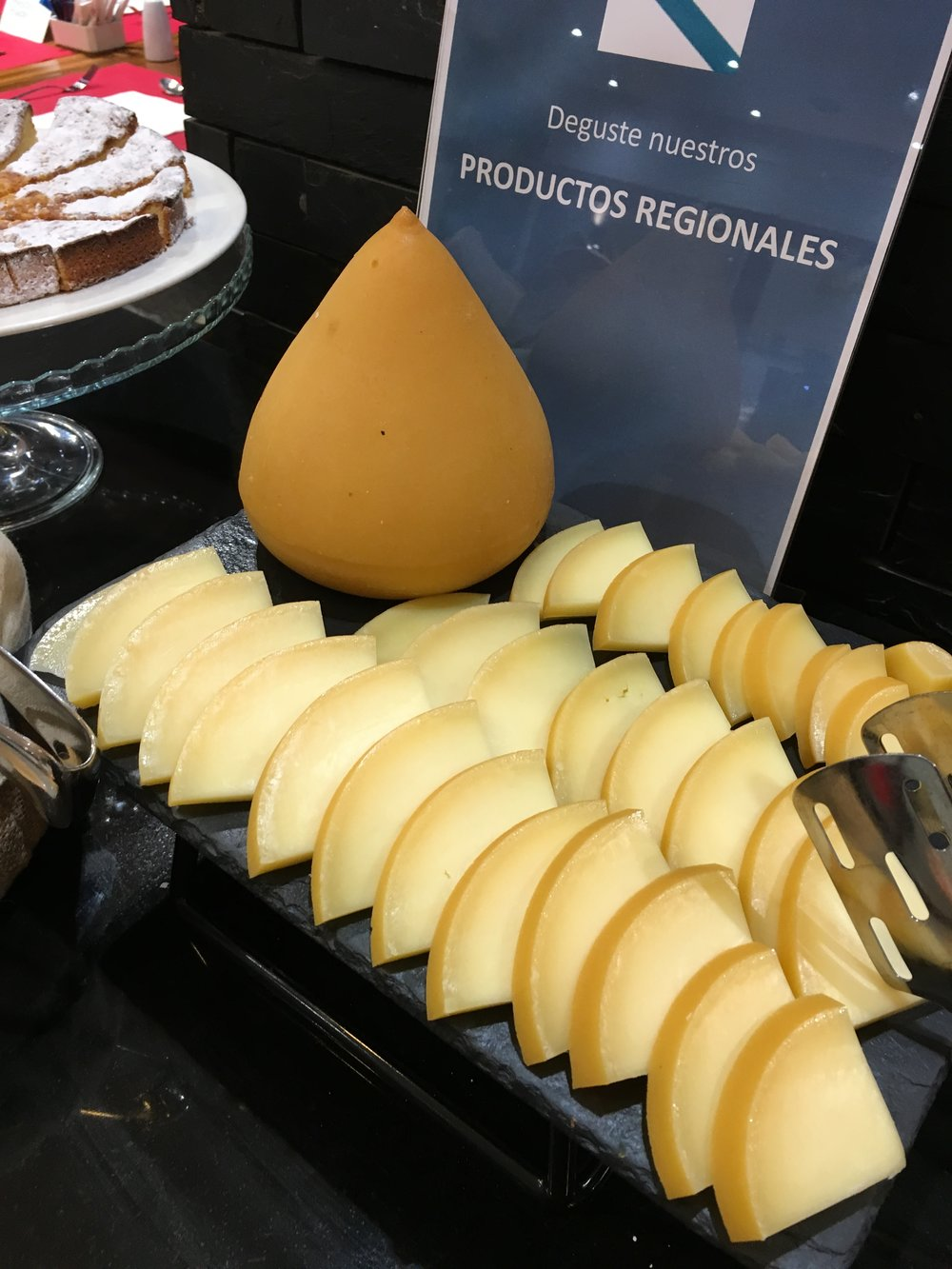 Tit Cheese, at the Breakfast Buffet