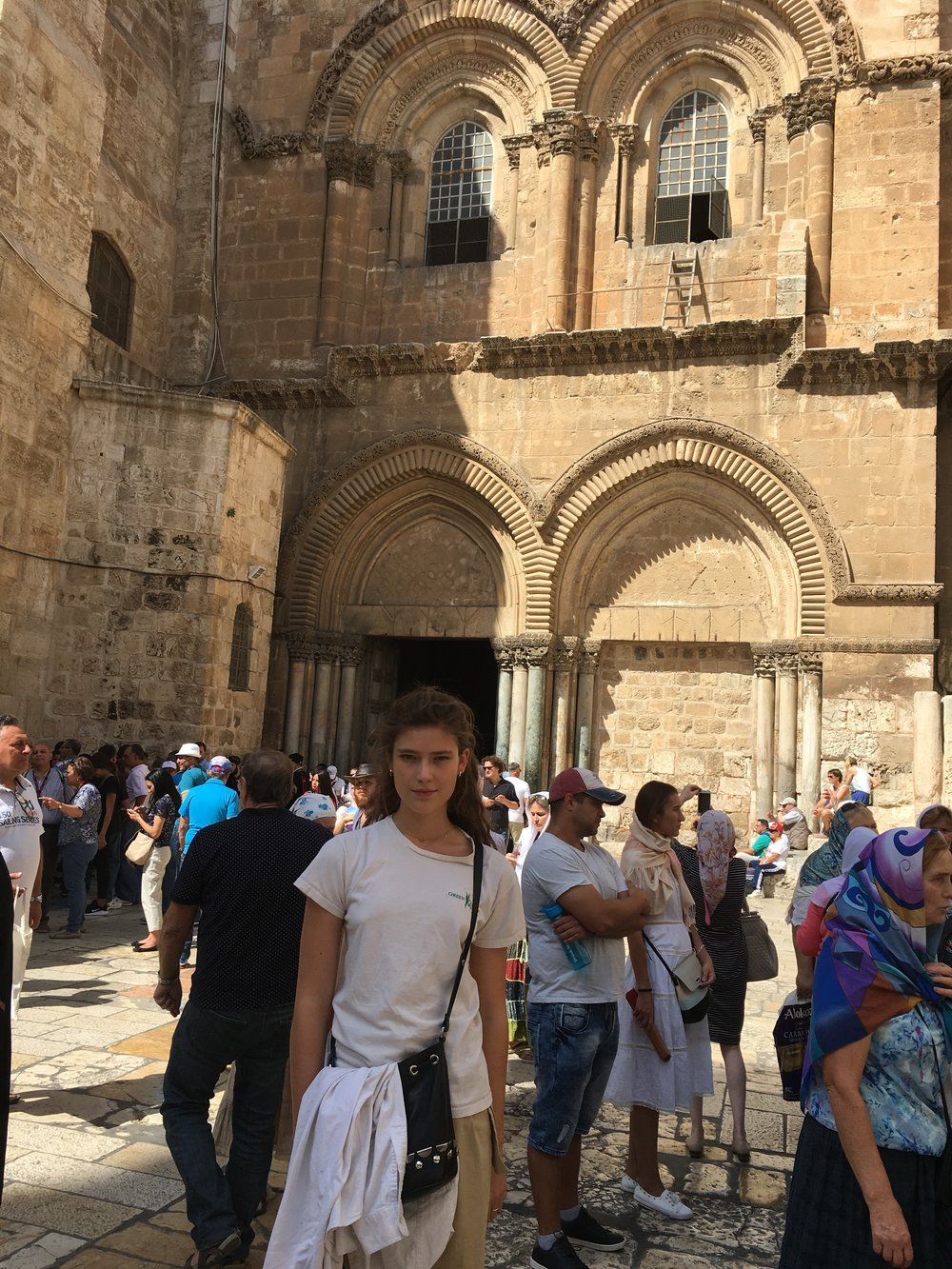Church of the Holy Sepulcher. Touted as the most holy of Christian sites, this cathedral houses the purported tomb where Christ was interred once taken down from the Cross.