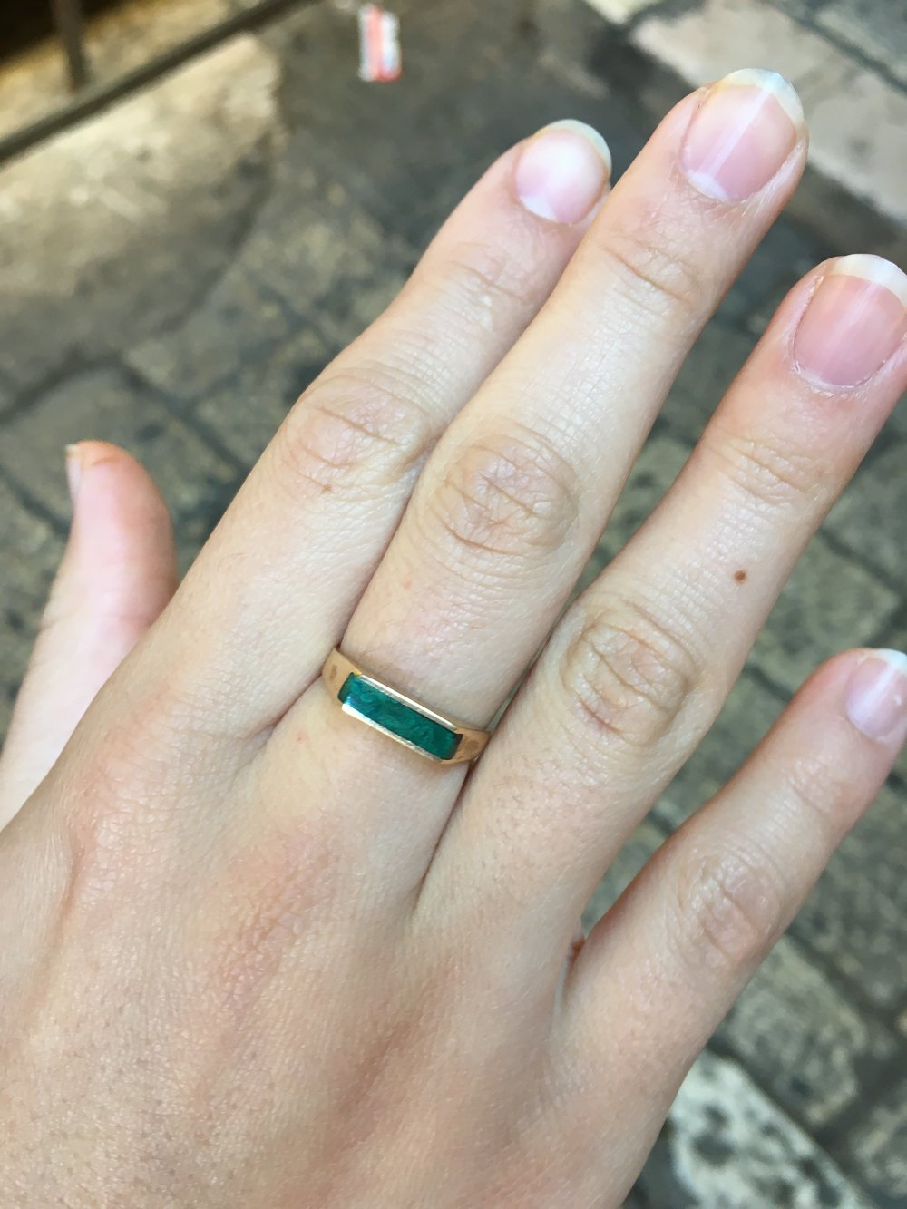 The Ring that the owner's son gave Noa