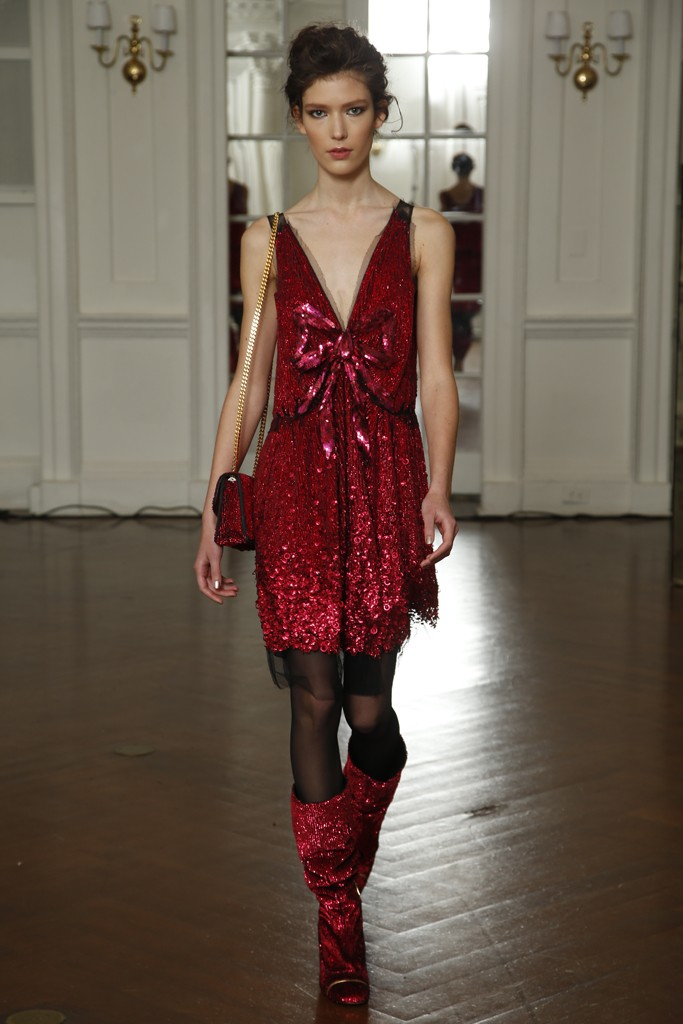 A certain problematic dress, Marc Jacobs Resort 2014, New York.