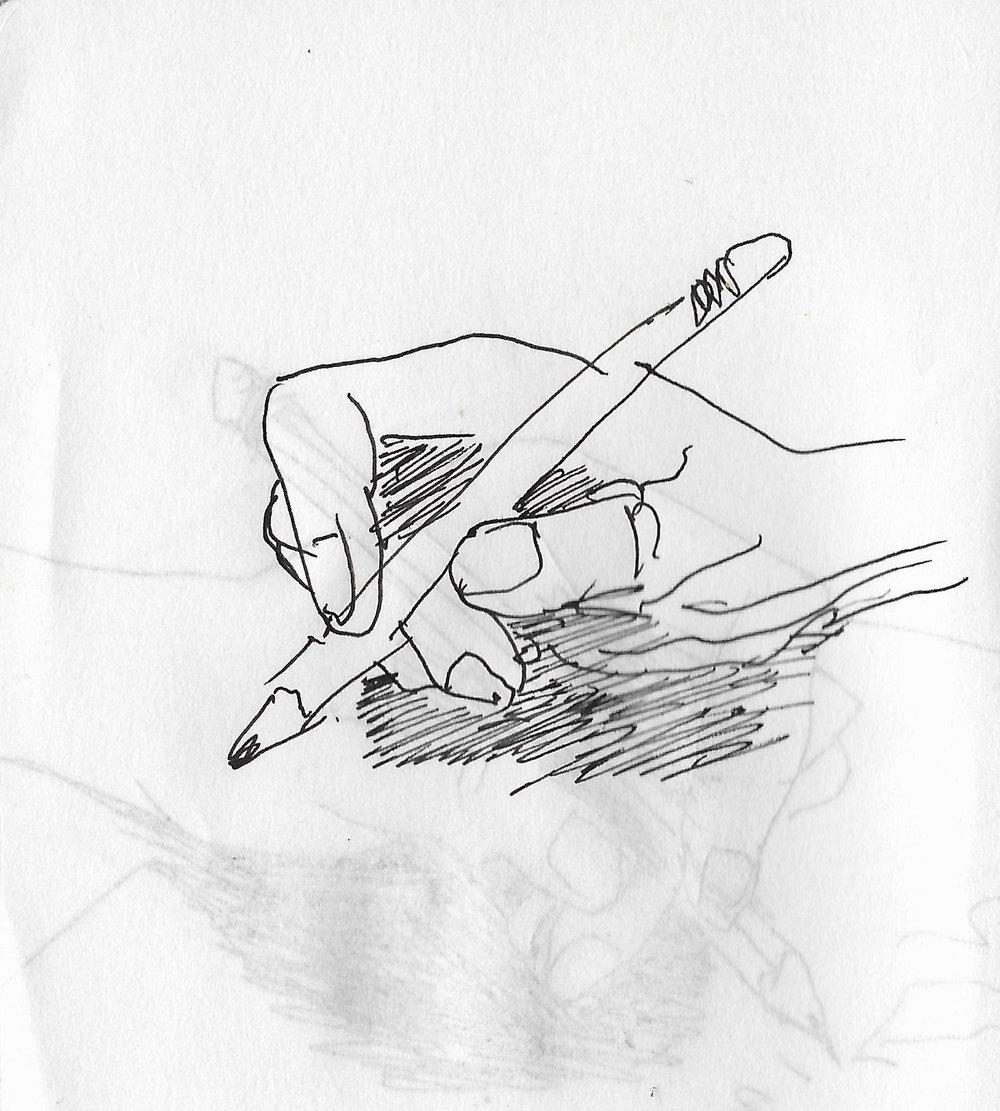 Original sketch, November 2016