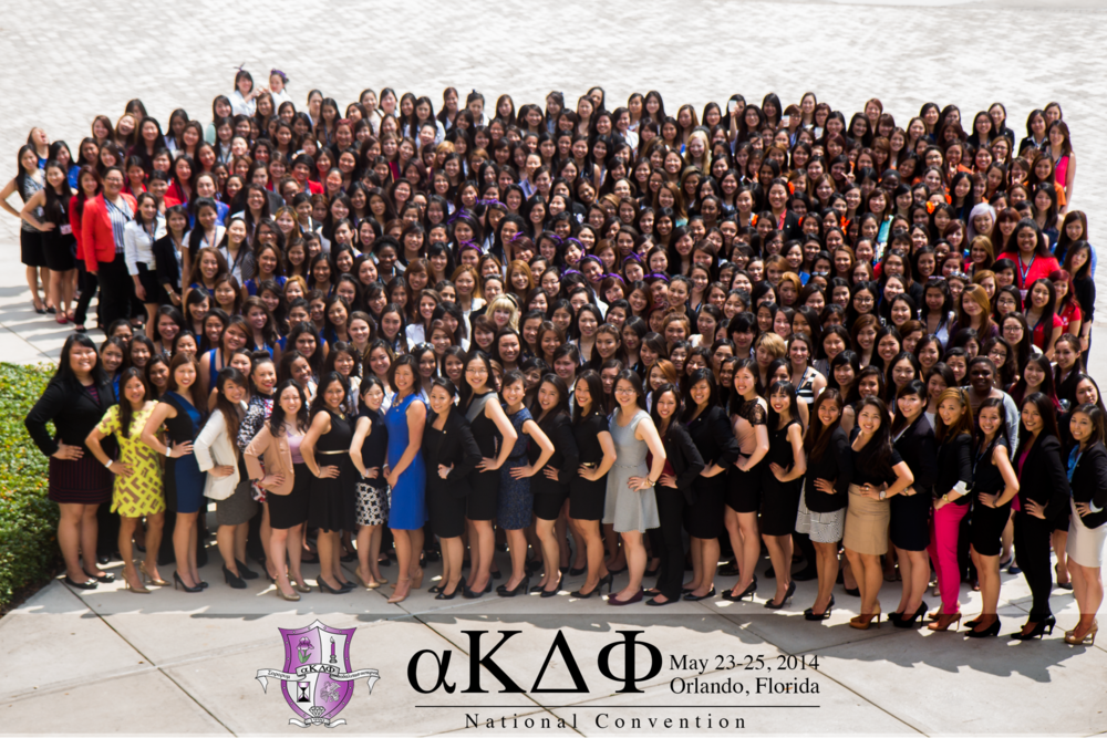alpha Kappa Delta Phi International Convention 2014 in Orlando, FL