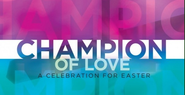 Please join us as Temple Baptist Adult Choir presents  Champion of Love .