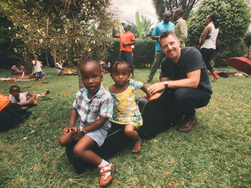 Visiting a home in Kigali, where sex workers and their children are cared for and given an opportunity to change their lives.