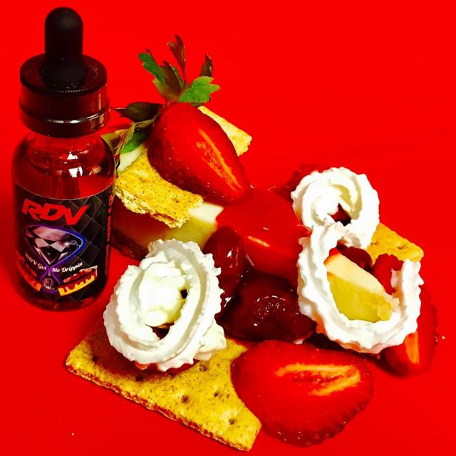 NJ Berry Brunch🍓Strawberry Cheesecake Baked into Graham Cracker Crust💎Get yours today:DM for Order info & Free Shipping! #vapelove #vapeporn #vapelife #vapenation #vapelyfe #vapeporn #vapedaily #topshelfjuice #vapeshop #vapestagram #igvapers #vapepics #vapesociety #vapefriends #vapefamily #vapenatoin #vapenj #njvapeshop #inkedvapers #girlswhovapw #dripclub #dripclubloyalty #repost #follow #vapeshop