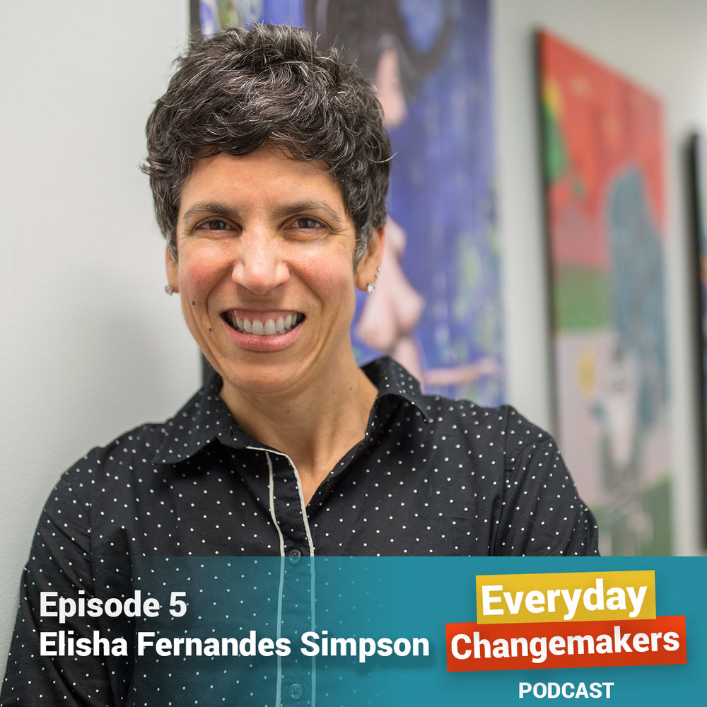 On Healing, Self-Care, and Resilience - Elisha Fernandes Simpson is the founder and executive director of The Crossover Yoga Project.Elisha's works supports girls in foster care and juvenile detention centers, state-run residential treatment centers, and social service agencies to overcome trauma through yoga, mindfulness, and expressive arts. Our conversation explores Elisha's personal connection to her work, the positive changes she witnesses in young people who learn these tools, and includes lots of practical techniques you can try, too, from breathwork to morning journaling. Bonus: Download the Wounded Healer reflection guide here.
