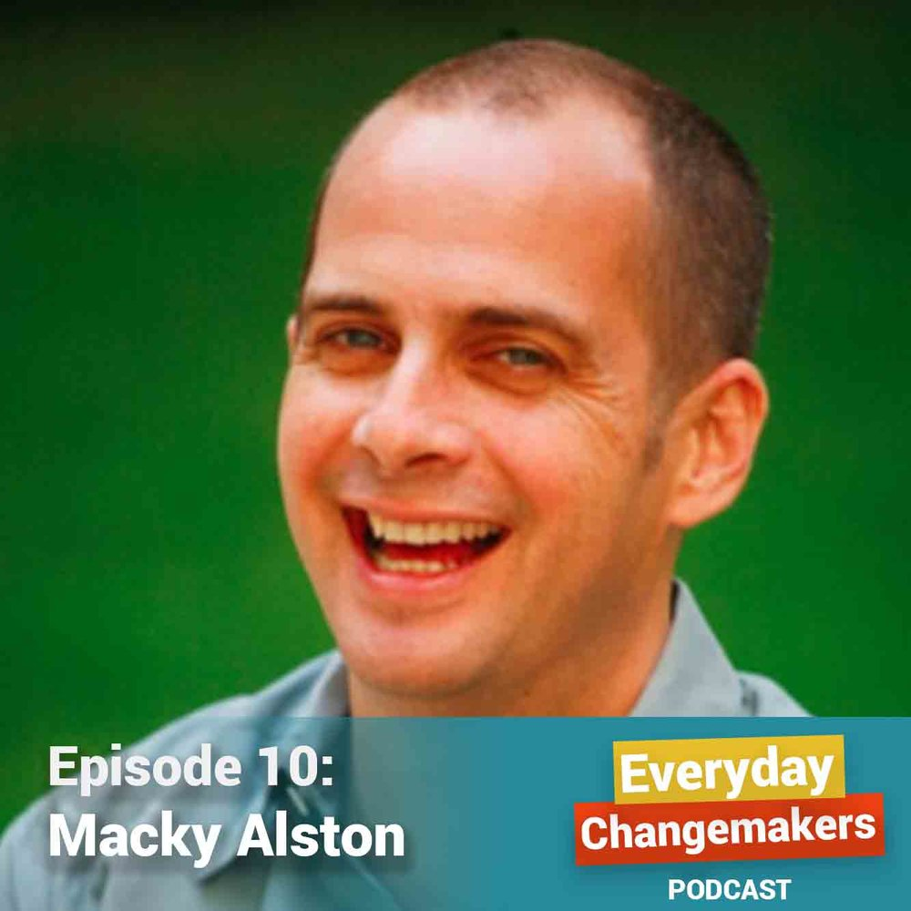 On Choosing Beauty, Joy as Resistance, and Sacred Truth-Telling - Macky Alston serves as VP of Prophetic and Creative Leadership at Auburn Seminary. He was a senior at Columbia University in NYC when he attended one of the first meetings of ACT UP in 1987. Our conversation explores how Macky found life and celebration in the midst of death, as the AIDS crisis raged through his community, and the world. We talk about the practice of surrounding yourself with beauty, joy as an act of resistance, and truth-telling as sacred work.