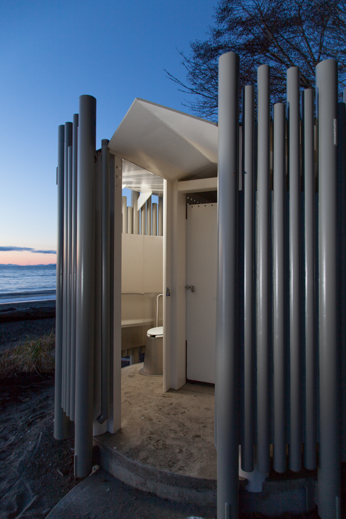 BCA - Vancouver Wreck Beach Washrooms