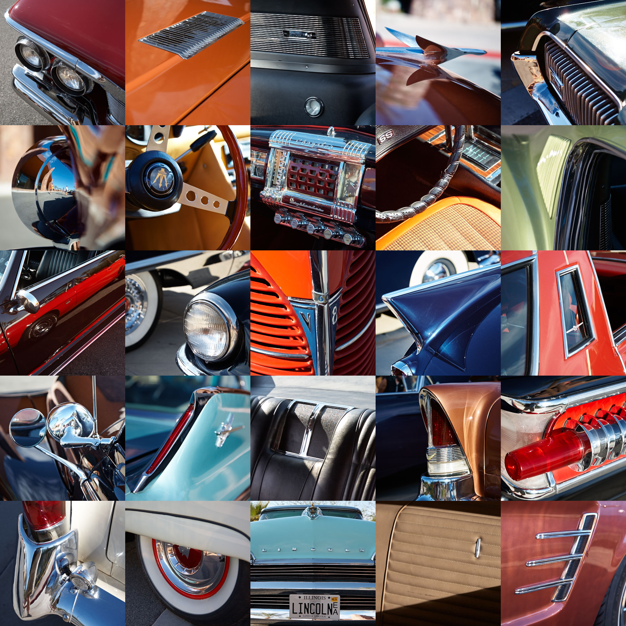 Palm Springs Modernism Week Car Show - in one image