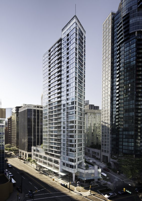 Sapphire Vancouver north elevation