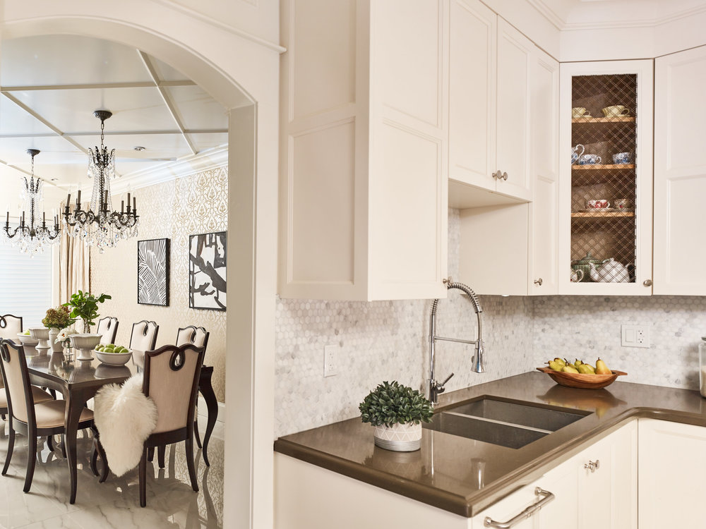 Linhan Design traditional kitchen Family and Formal Vancouver Fraser Valley Georgie