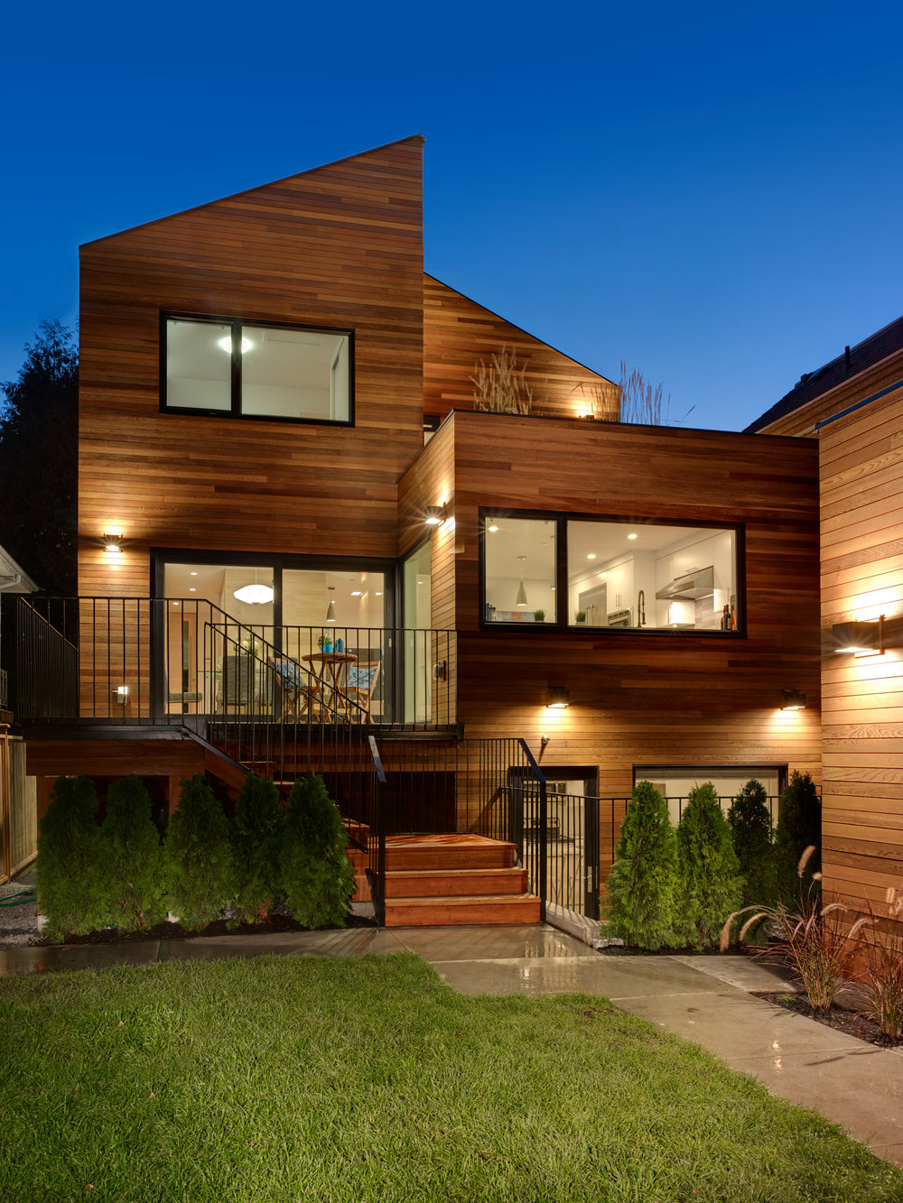 Vancouver Modern Wood Renovation