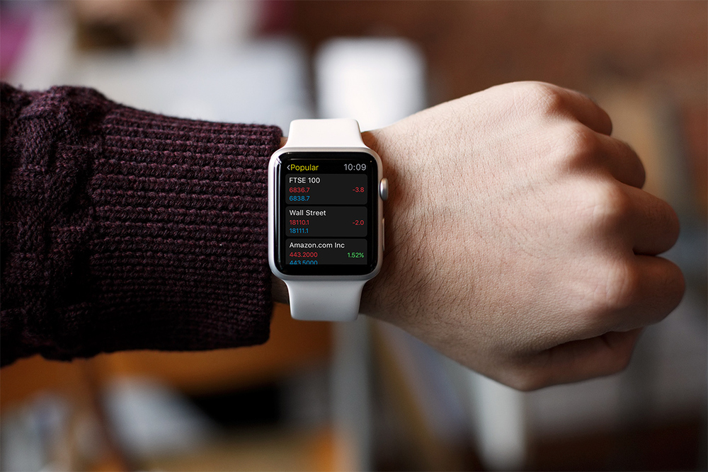 City Index Apple Watch app