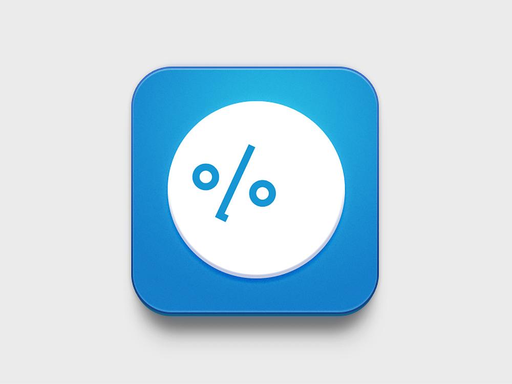 110% app icon