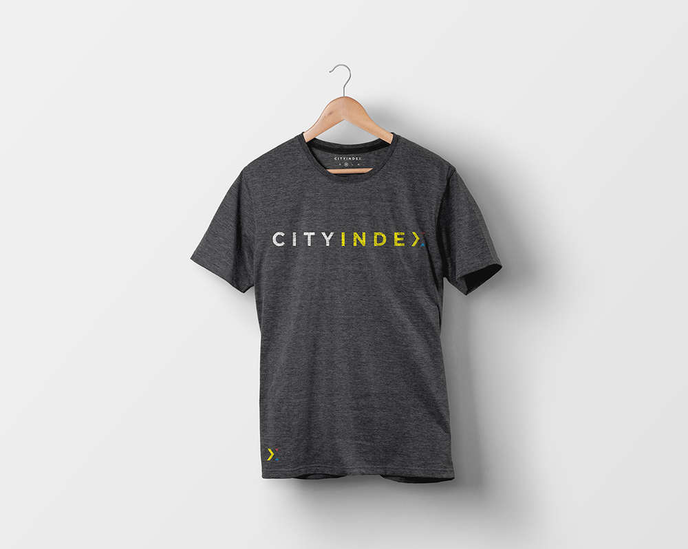 City Index brand t-shirt