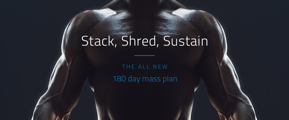 The Body Coach - Stack, Shred, Sustain