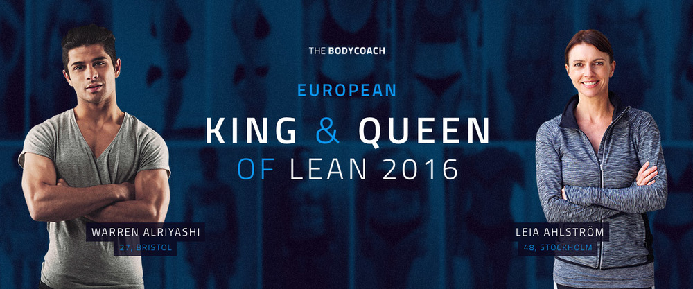 The Body Coach King & Queen of Lean
