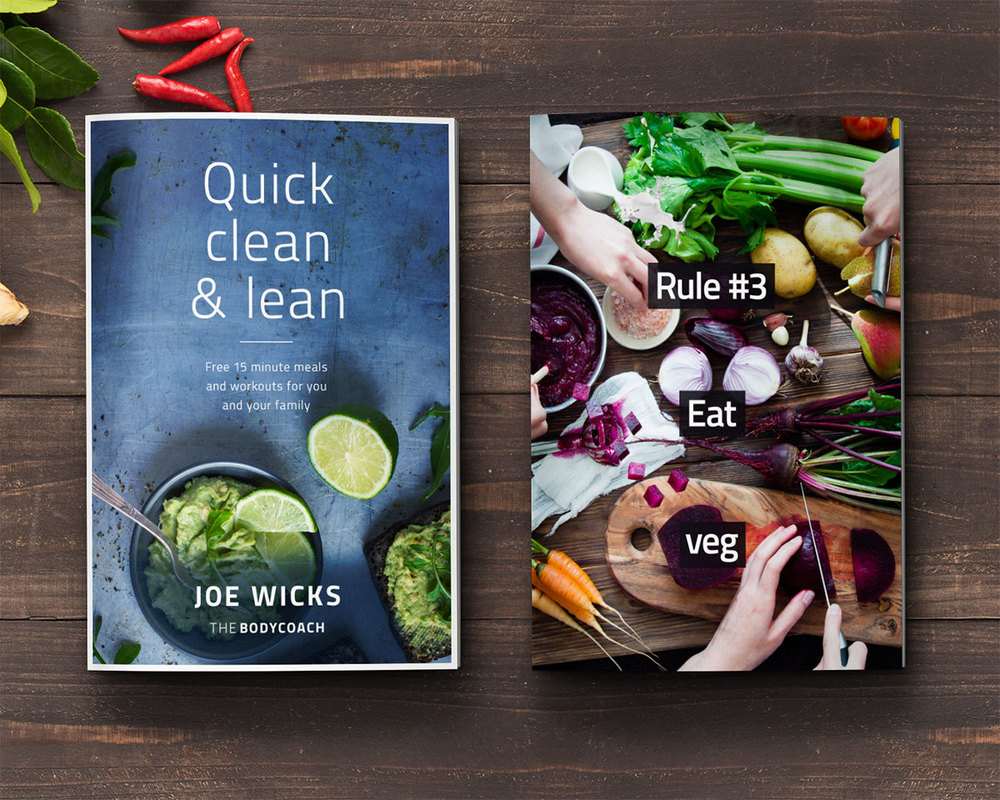 The Body Coach Lean Book