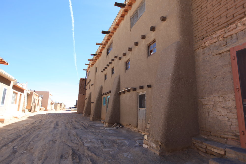 One of the oldest buildings in the Pueblo, dating from the 16th century.