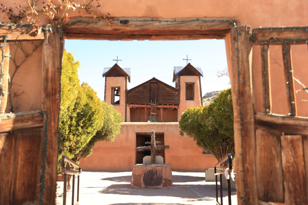 El Santuario de Chimayó, still a place of pilgrimage.