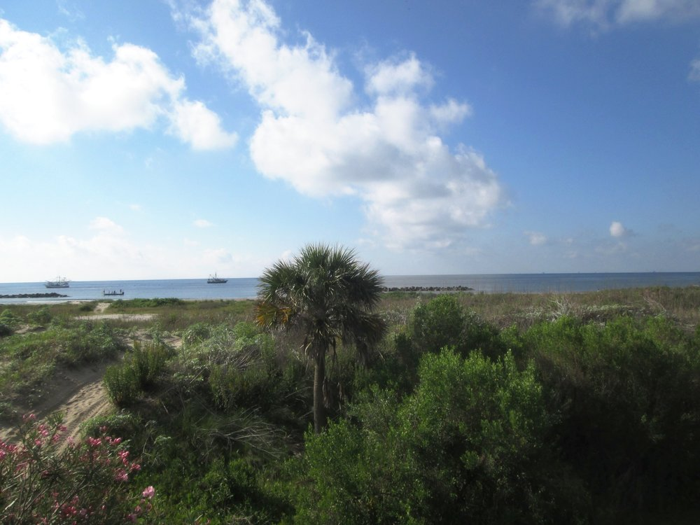 Grand Isle, Louisiana - Three nights at Sol et Terre, our cottage by the sea...