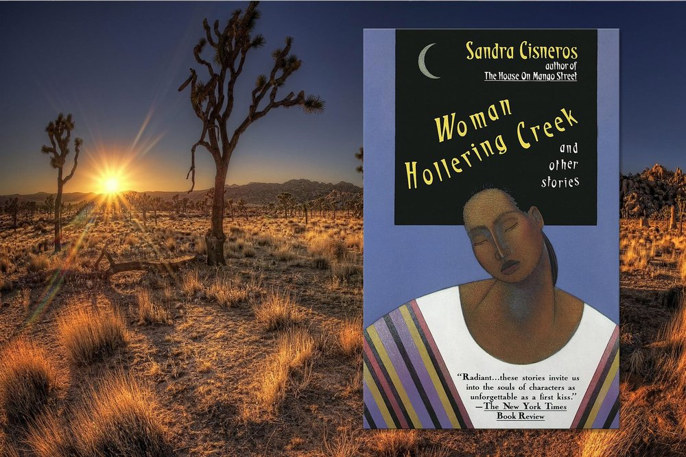 MEXICAN AMERICA - 'Woman Hollering Creek' by Sandra CisnerosMexican America fuses European and Native traditions, and pre-dates all other immigrant pathways. Cisneros' stories celebrate the traditional and folkloric, whilst acknowledging an ongoing struggle for a slice of the American Dream.
