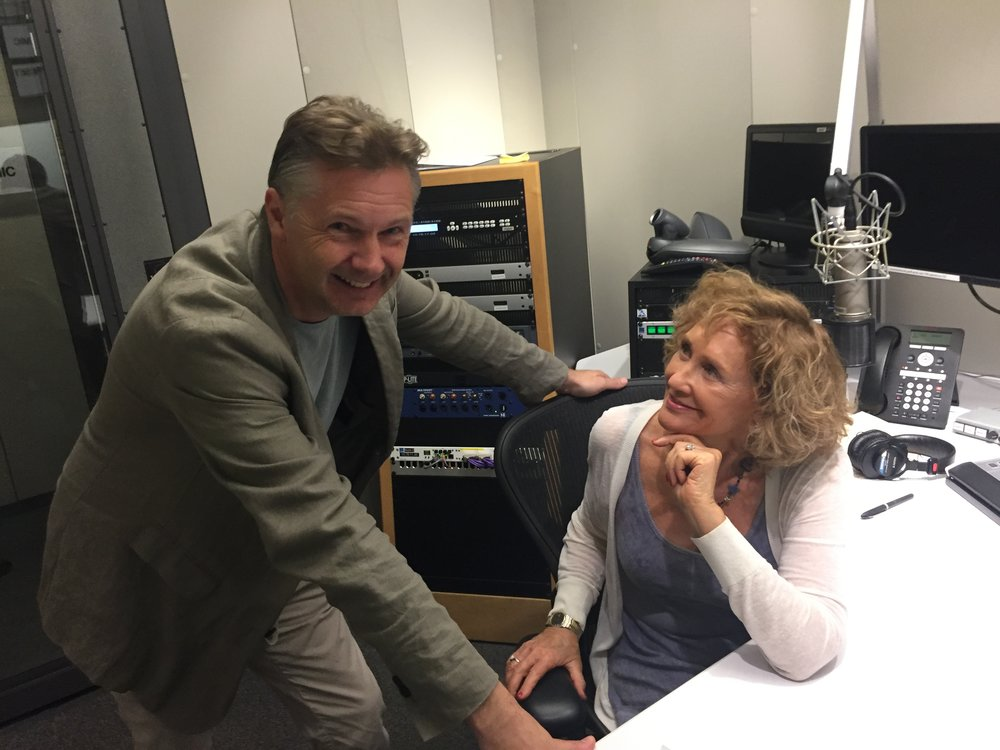 The interview was recorded at NPR's LA studios with LA Theatre Works' producer Susan Loewenberg.