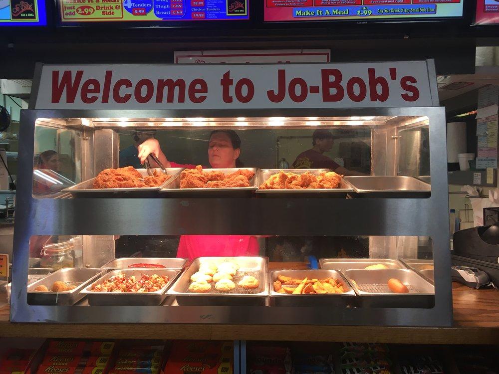 Dinner at Jo-Bob's