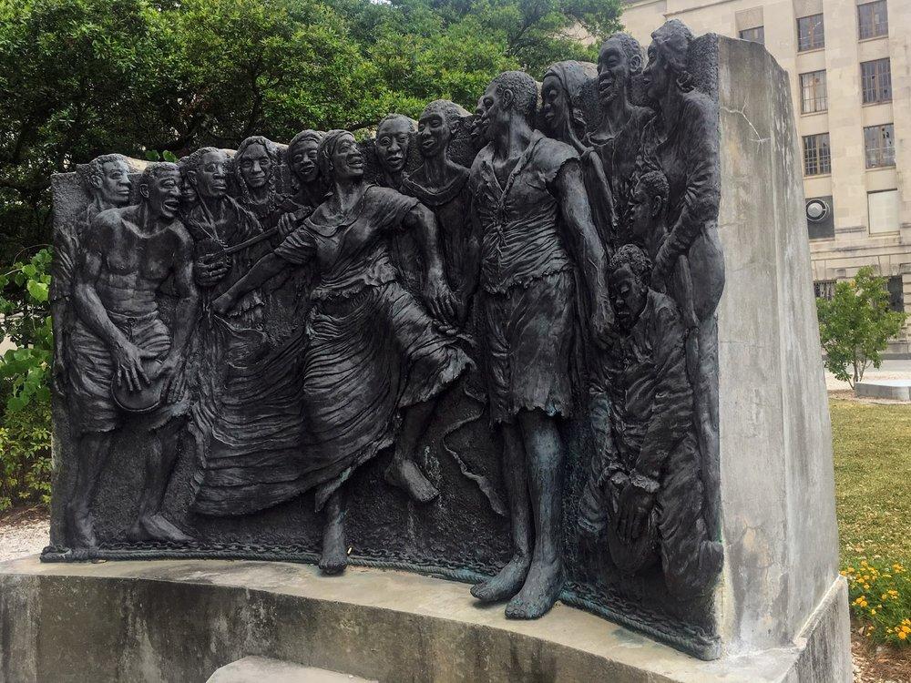 Congo Square Statue