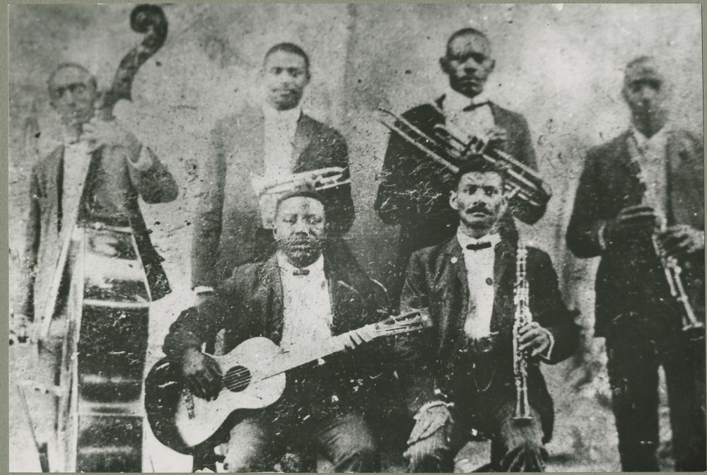 Buddy Bolden back row, second from left