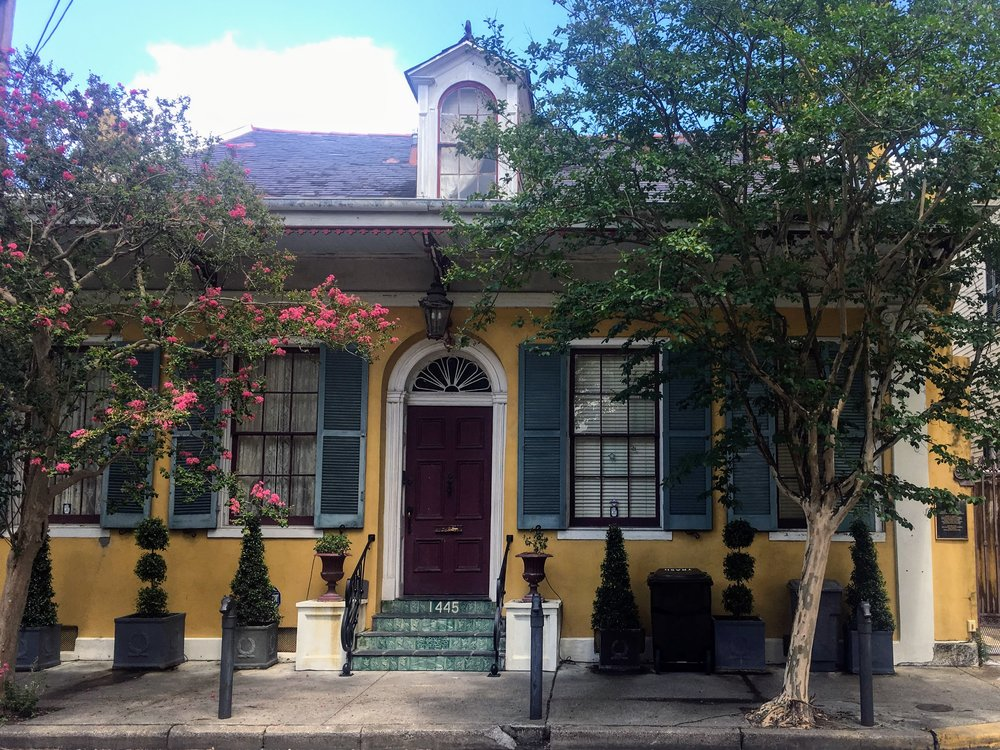 A house in the Marigny
